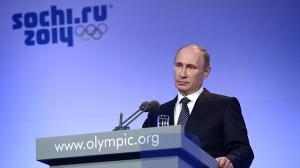 Putin en Sochi