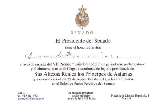 Invitación 2011