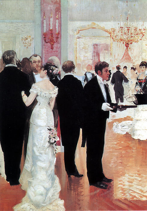 Jean Georges Beraud The Wedding Reception