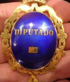 medalla diputado