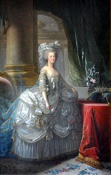 Marie Antoinette de Elisabeth Vigée-Lebrun 1783