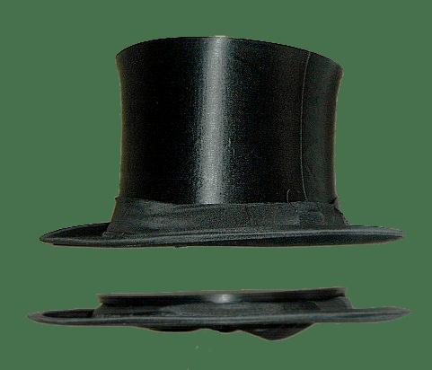 """top hat El """"gibus"""" o sombrero de copa plegable  915c4742b2c8"""