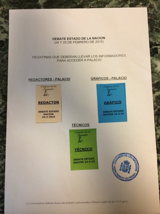 acreditaciones Congreso
