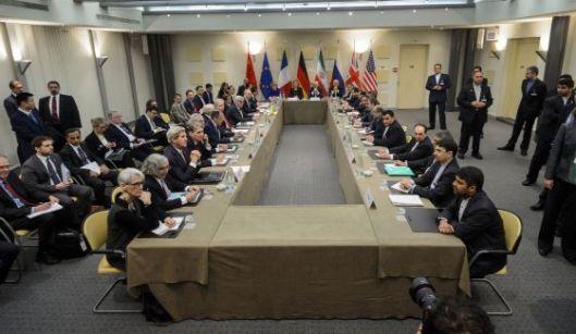 Negociación en Lausana acuerdo nuclear mar 15