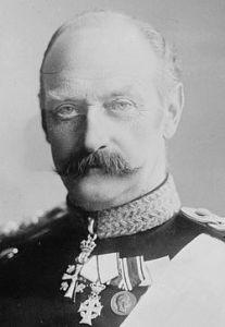 el rey Federico VIII de Dinamarca 1909