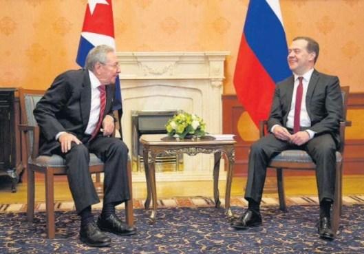 castro presidnte ruso