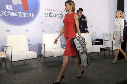 Doña Letizia en México