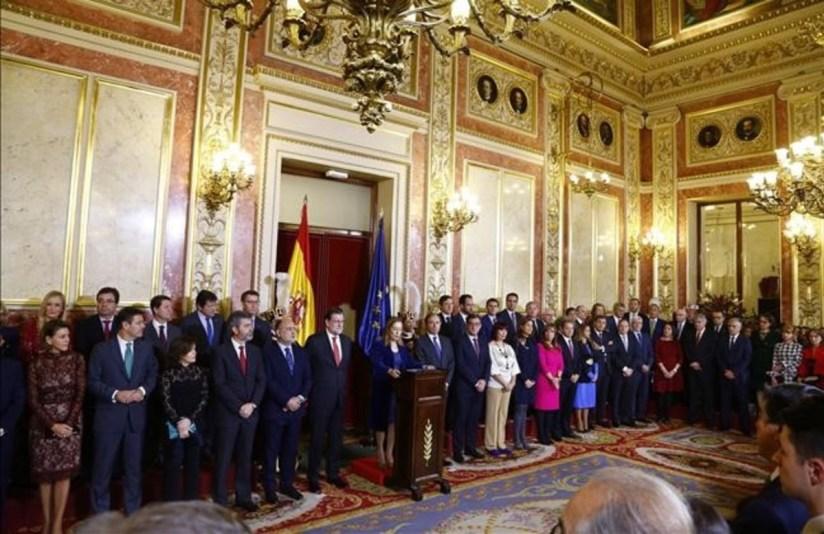 MADRID 06 12 2016 Politica Recepcion dia de la Constitucion FOTO de AGUSTIN CATALAN