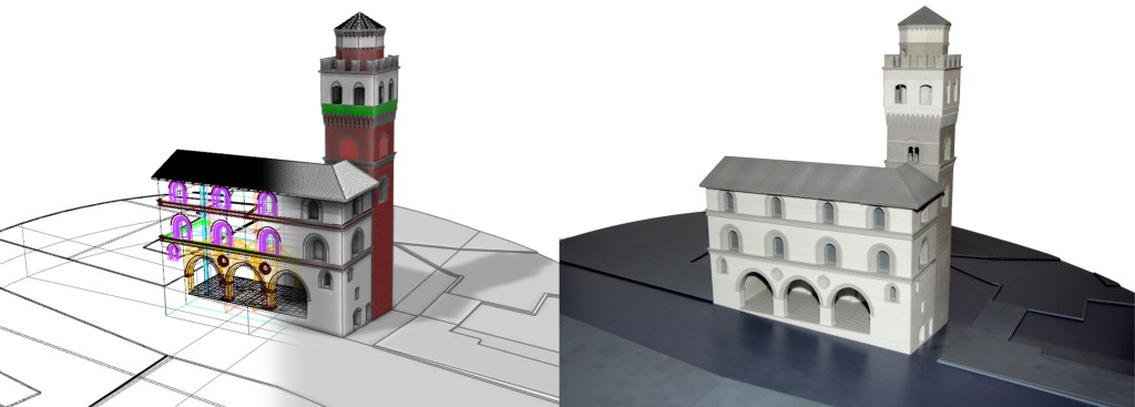 saluzzo - plastico palazzo