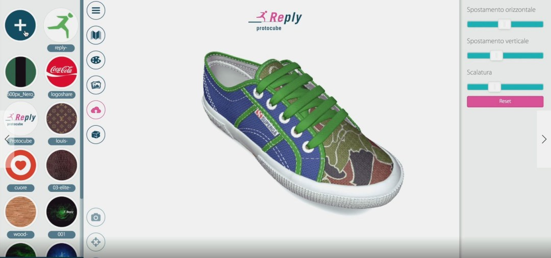 superga configuratore 3d reply