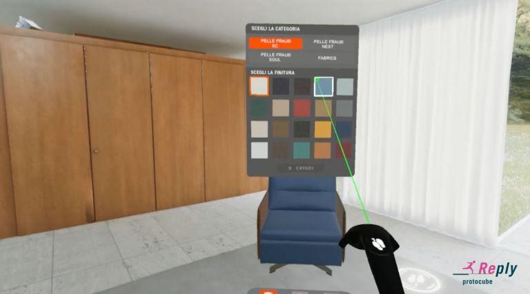 Poltrona Frau VR Experience