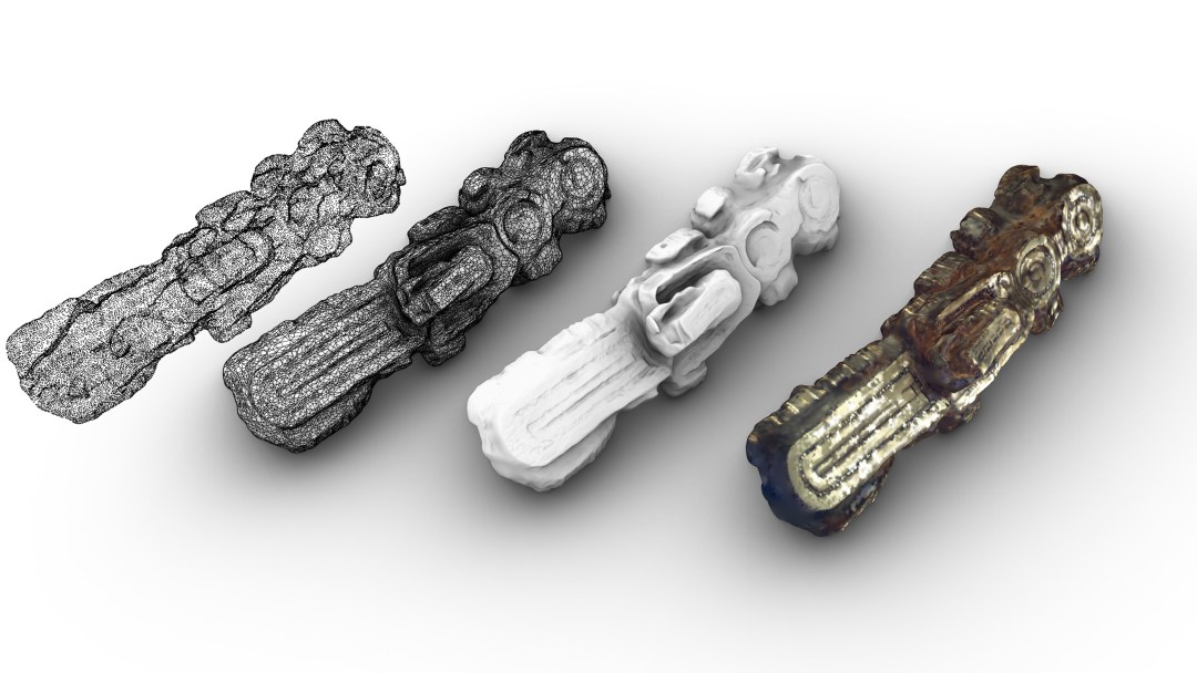 cuneo scansione 3d fasi modellazione 3d small