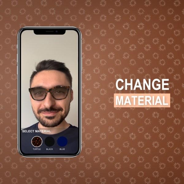 virtual try on AR app 3d