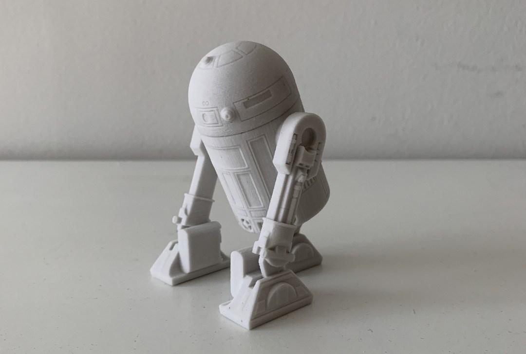 R2-D2 prototipo stampa 3D finale