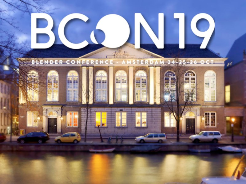 Blender Conference 2019 Protocube Reply 3D