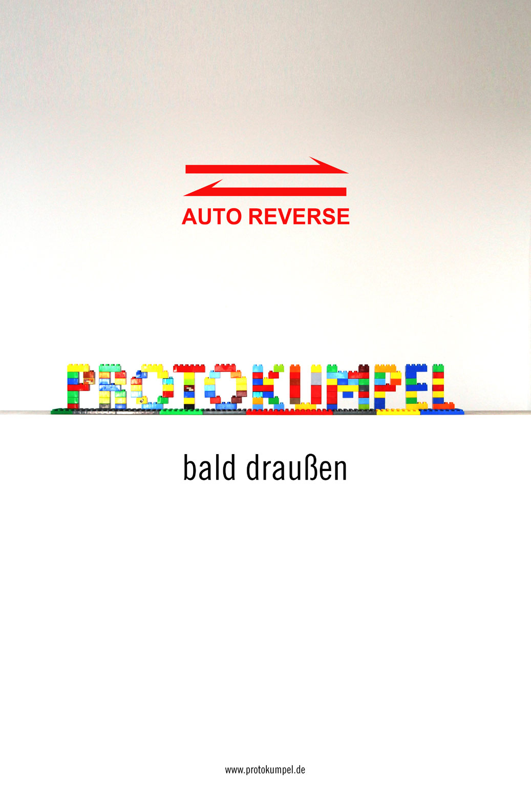 AUTO REVERSE - bald draussen!
