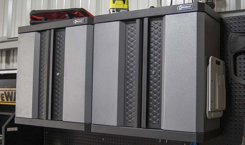 Kobalt Steel Wall-Mount Garage Cabinet Review