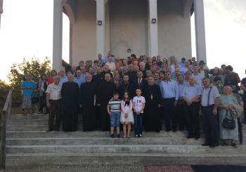 """Prima slujbă săvârșită în Biserica Parohiei ,,Sfântul ApostolAndrei"""" din Municipiul Dej"""