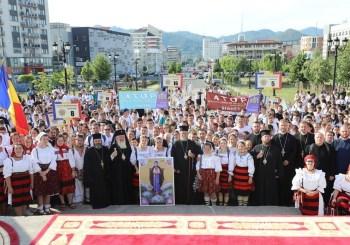 """Tinerii din Protopopiatul Dej prezenți la ,,Întâlnirea tinerilor Creștini Ortodocși"""" de la Baia- Mare"""