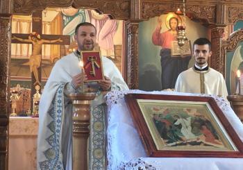 Instalarea preotului Ioan Neamțiu în Parohia Cetan-Protopopiatul Dej
