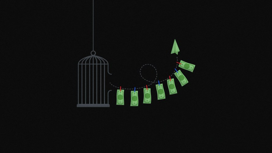 This is a line of US dollars being laundered by a birdcage. Deep. This is an article about BitMEX..