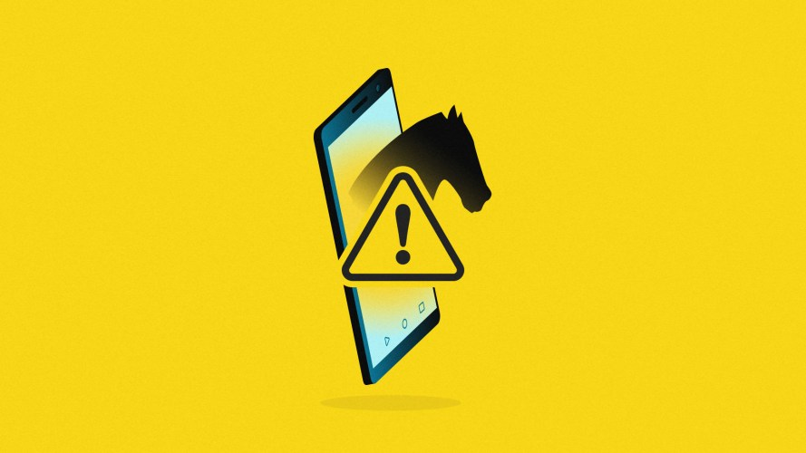 Android app hackers are targeting crypto users with Trojan horses, and this is one of those coming out of a phone! Look out!
