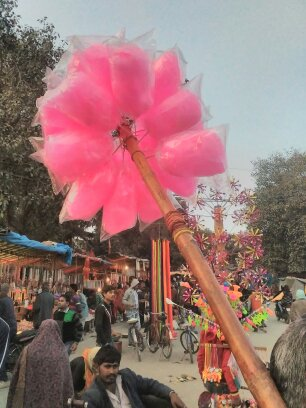 Cotton Candy @ Sangam Mela (Allahabad)