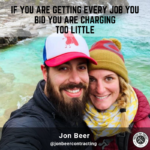 this is a leading contractor podcast featuring Jon Beer