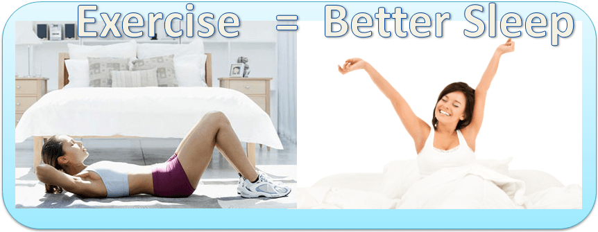 Image result for exercise sleep