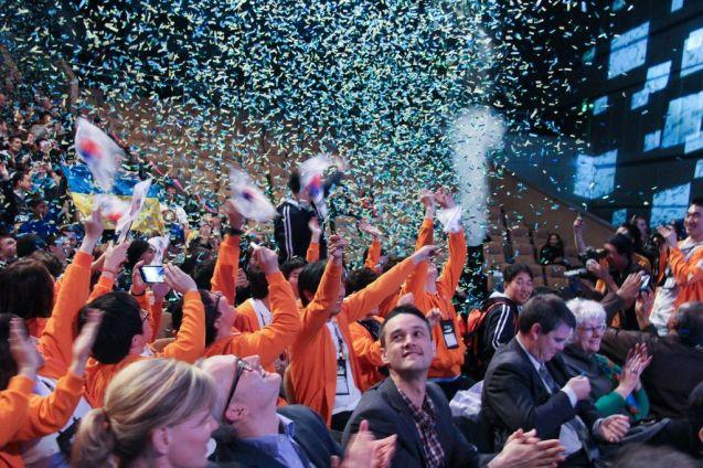 Cérémonie d'ouverture Imagine Cup 2012