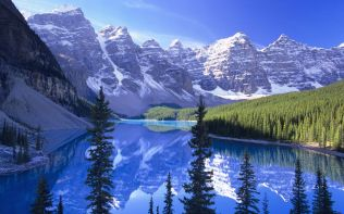 Moraine Lake, Banff National Park /Lac Moraine, parc national Banff, Alberta