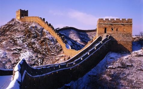 ?????,?? (Snow on the Great Wall, China)