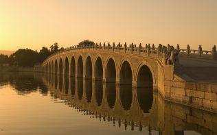 ???????,???? (Seventeen Arch Bridge on Kunming Lake in Beijing,