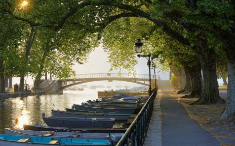 Canal du Vassé, Annecy, Rhône-Alpes, France