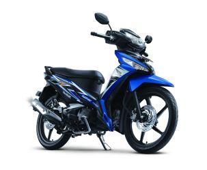 New Supra X 125 FI CW Fabulous Blue