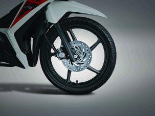 New Supra X 125 FI fitur cakram depan