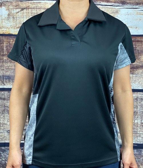 The Modern Defiant Female Patriot Polo Shirt