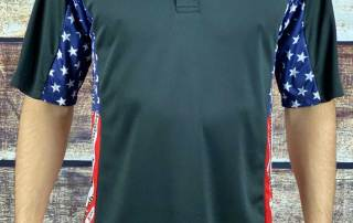 Pledge of Allegiance Patriotic Polo Shirt