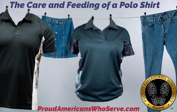 how do i care for a polo shirt