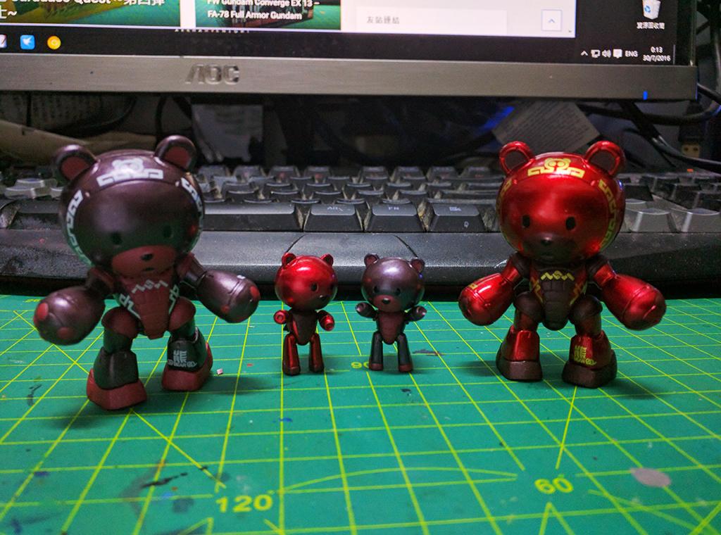 FW Gundam Converge - 中華風雄霸F【海外限定】
