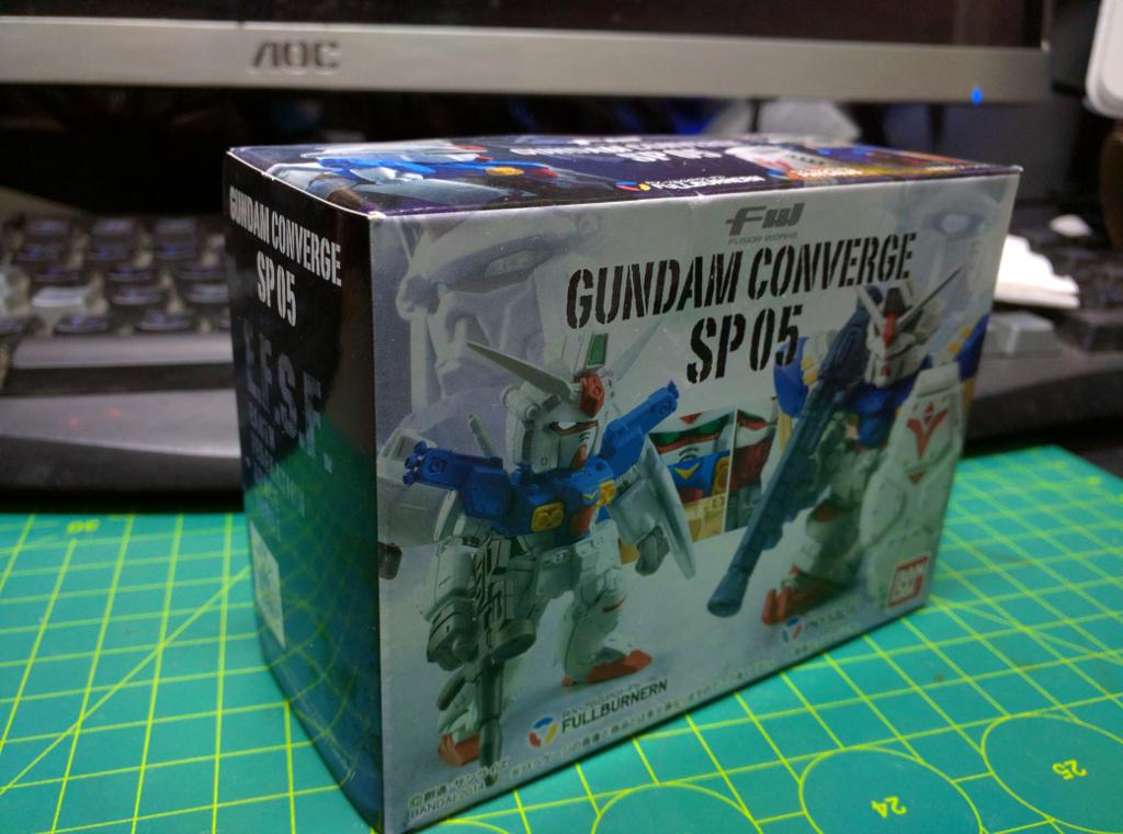 FW Gundam Converge SP 05 – GP01FB & GP02A