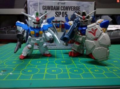 FW Gundam Converge SP 05 - GP01FB & GP02A