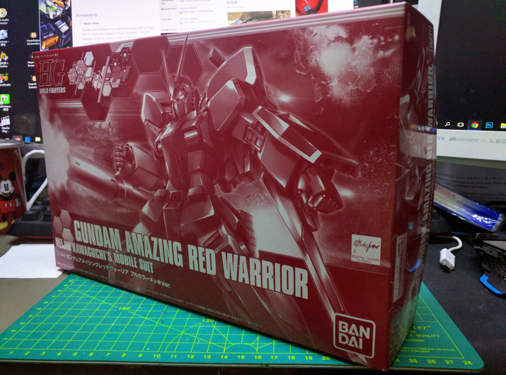 HGBF Gundam Amazing Red Warrior – 電鍍Ver.
