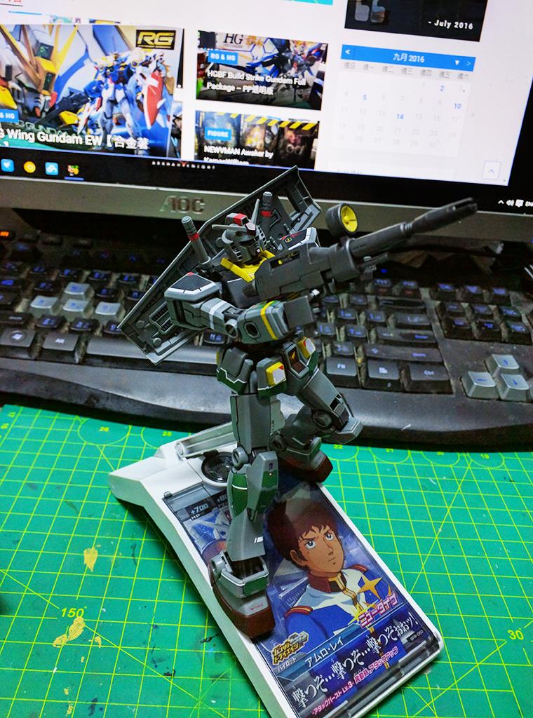 HGUC RX-78-2 Gundam (21世紀真實配色ver.)
