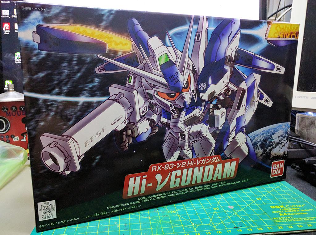 SD BB戰士[384] RX-93-v2 Hi-nu Gundam