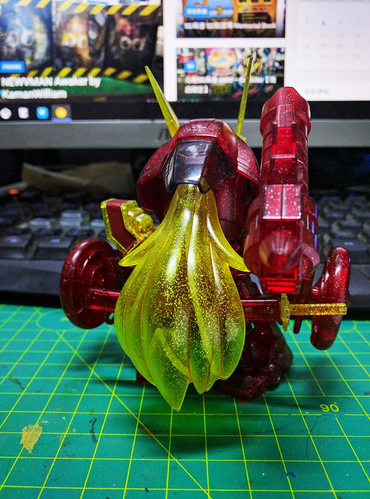 SDBF 超卓紅武者 - Plavsky粒子透明Ver.