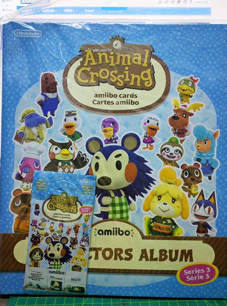 動物之森 – Amiibo Collector Album【第三彈專用】