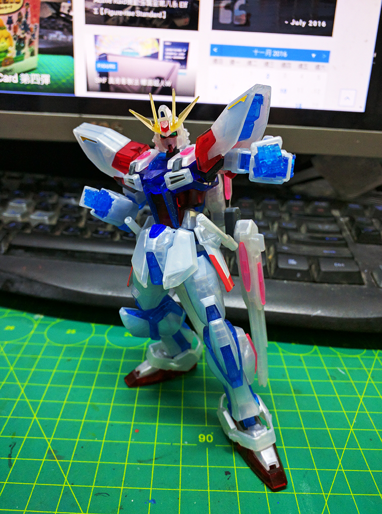 HGBF Star Build Strike Gundam ver. RG System