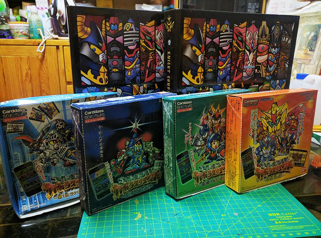 【完全收錄】騎士高達 Carddass Quest 第三彈 & 第四彈