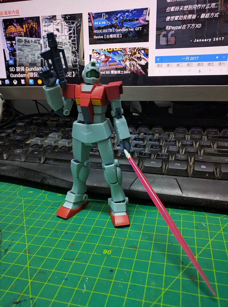 ROBOT魂 RGM-79 吉姆 ver. A.N.I.M.E.